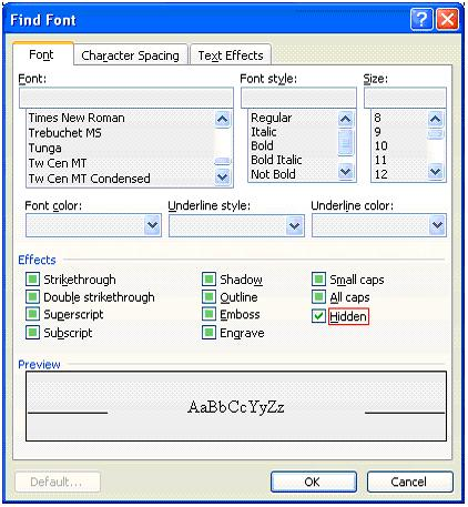 how to turn off track changes view in word 2010